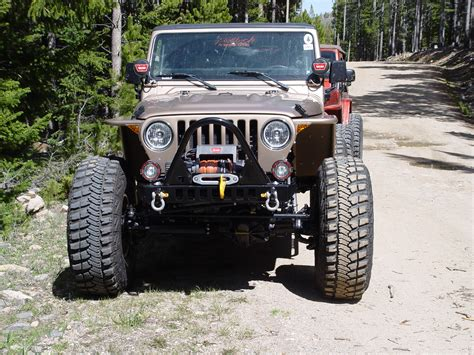 Jeep Tj Fender Jeep Tj Fenders 3 Inch Flare High Clearance 97 06