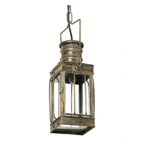 Heritage Lighting by Rustic Cargo Lantern Hanging Ceiling Pendant Light