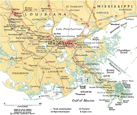 map of new orleans projects map of modern mississippi river delta in vicinity of new