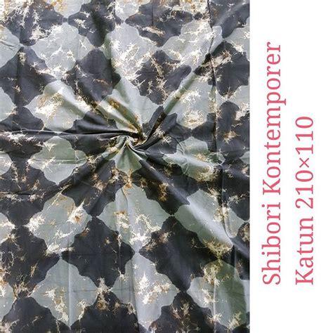 Tunik Batik Shibori inovasi terbaru kain shibori motif abstrak batik