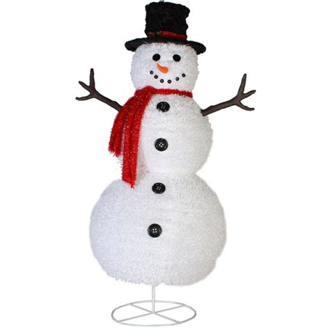 Snowman Decor by Lights Trees Led Lights