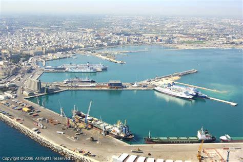 port of bari italy bari ferry terminal new port bari italy