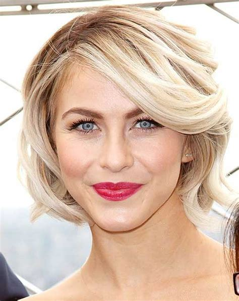 juliannehough curly bob best short hairstyle from hollywood celebrities jirua