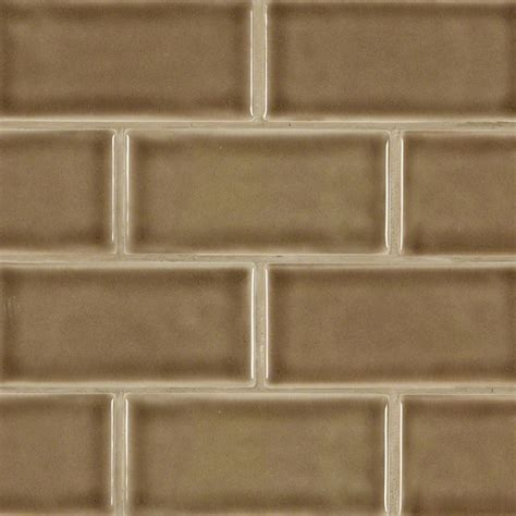 buy artisan taupe glazed 3x6 handcrafted subway tile