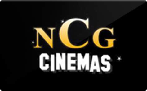 Ncg Gift Cards - buy ncg cinemas gift cards raise