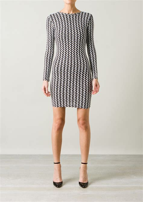 black and white geometric pattern dress opening ceremony black and white geometric patterns dress