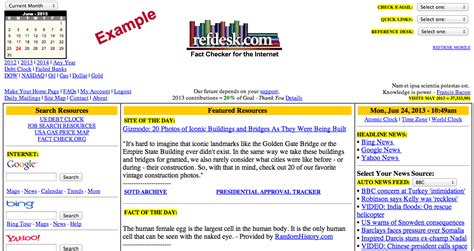 Ref Desk by Refdesk With No Display Ads Fast Simple Ad Free