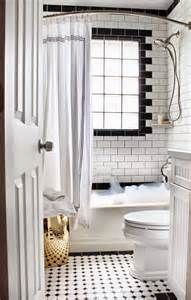 Small Black And White Bathrooms Ideas Enkla Badrumstips Simplicity