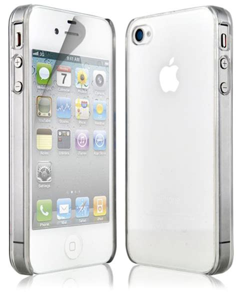 Transparan Thin Iphone 4g4s new thin clear silicone cover screen protector for apple iphone 4 4g 4s ebay
