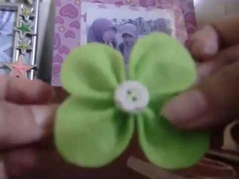 youtube membuat bros how to make a brooch cara membuat bros kain planel youtube