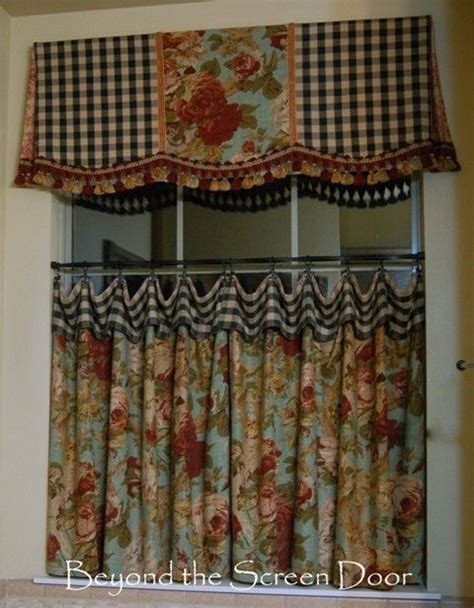 french country cafe curtains the most asked about cafe curtain valance beyond the