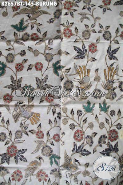 Baju Batik Kombi Burung batik kain halus buatan asli batik kombinasi tulis
