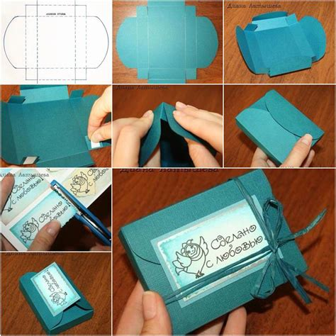Gifts To Make Out Of Paper - how to diy simple 3d paper gift box