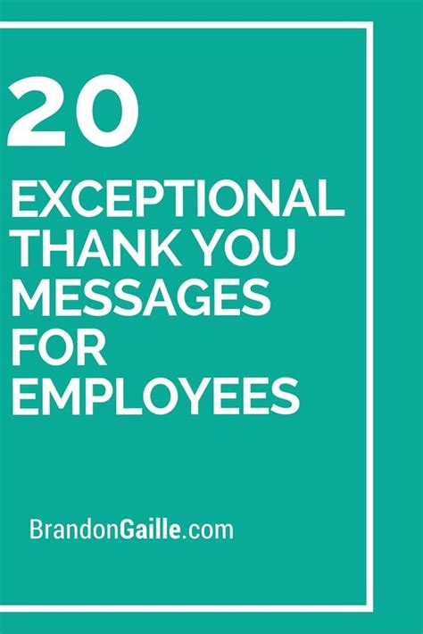 thank you letter to employees for thanksgiving 20 exceptional thank you messages for employees messages