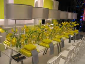 yellow and grey decor casa d eramo designing and creating the d 233 cor for your event or private function from