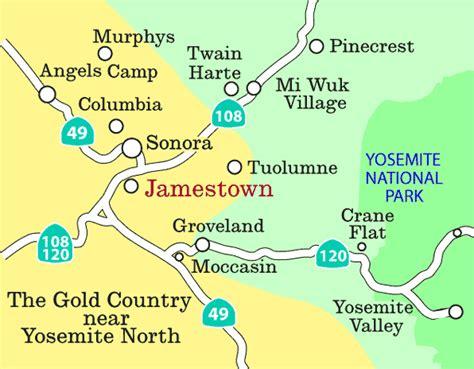 usa map jamestown jamestown california map