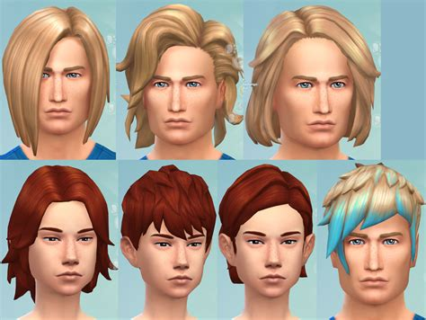 the sims 4 kids hair tsr newhairstylesformen2014com sims 4 hairs mod the sims gender hairstyle conversion