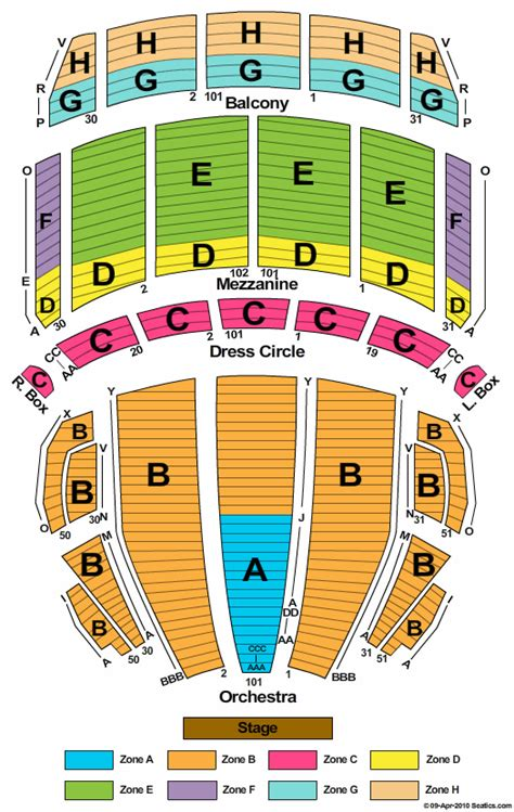 Kristin Chenoweth Boston Masachusetts Tickets Boston Opera House Seating Plan