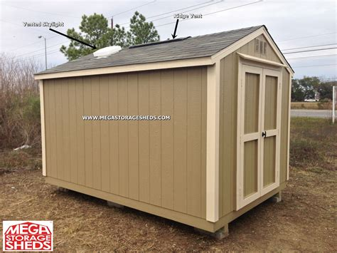 Shed Roof Vents mega storage sheds options roof vents