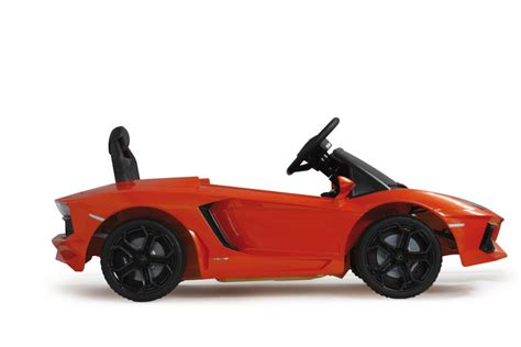 Lamborghini Ride Ride On Lamborghini Aventador Orange 27mhz 6v Jamara Shop