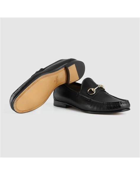 gucci 1953 horsebit loafer sale gucci 1953 horsebit loafer in shaded leather in black for