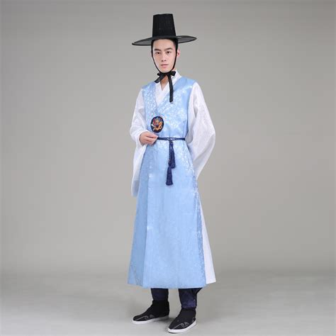 high quality orthodox silk korean traditional costume