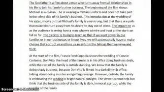 recommended film paper essay writing viewer s response to film techniques youtube