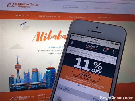 Hp Blackberry Lazada alibaba acquires controlling stake in lazada soyacincau
