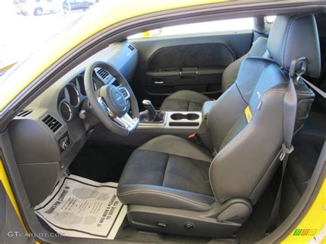 2012 Dodge Challenger Srt8 Interior by 2012 Dodge Challenger Srt8 Yellow Jacket Interior Photo