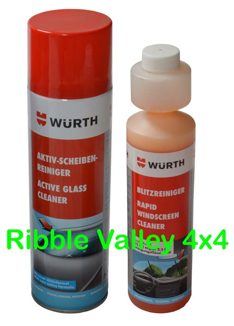 wurth clean glass kit wurth active glass cleaner rapid