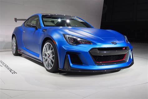 subaru brz matte blue subaru sti performance concept look