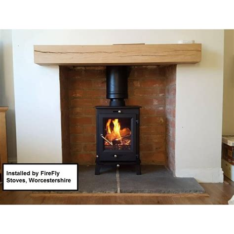 Agni Hutte Stove by Osburn 900 Metallic Black High Efficiency Wood Stove