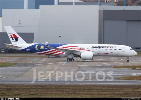 2 Second Malaysia jetphotos on quot the 2nd airbus a350 for malaysia