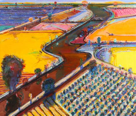 wayne thiebaud landscapes artists wayne thiebaud landscapes