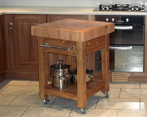 Chopping Table Kitchen Butcher Block Kitchen Island For Rustic Kitchen Home Design