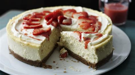 bbc food recipes how to make cheesecake