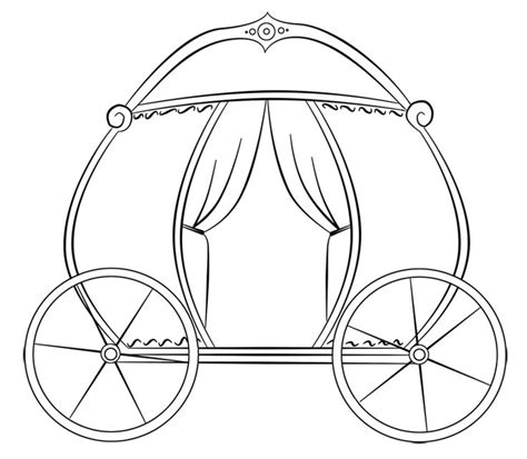 princess carriage template 175 best images about modelli per pdz on