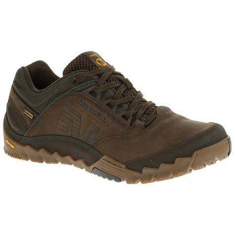 next shoes for merrell mens annex gtx footwear from gaynor sports uk
