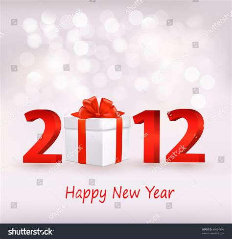 happy new year design vector happy new year 2012 new year design template vector