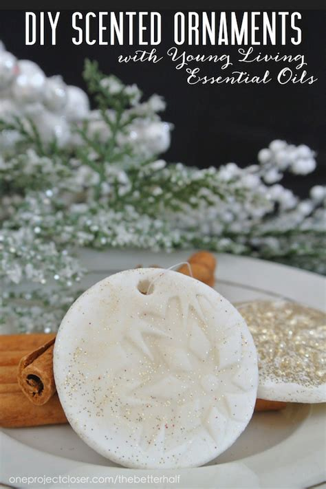 homemade holiday gift ideas diy scented ornaments