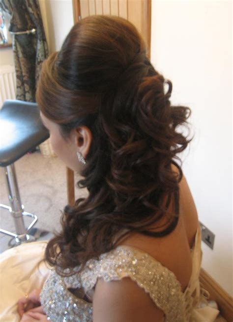 Asian Wedding Hairstyles 2013 by Indian Hairstyles Sleek Stylish