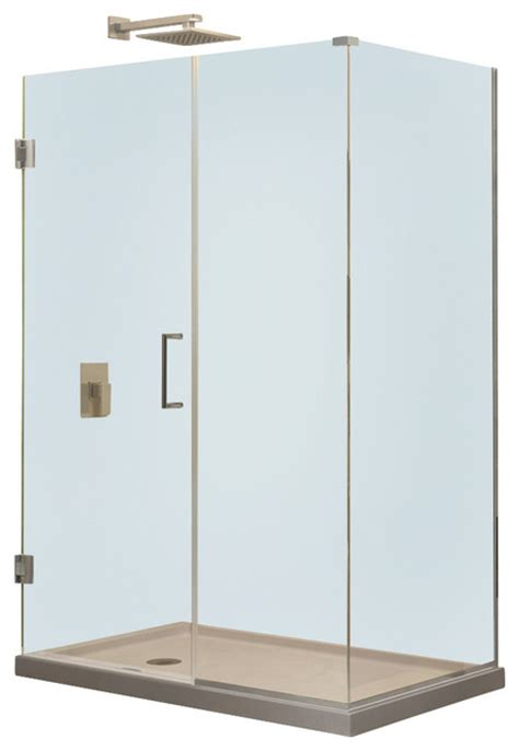 30 X 36 Shower Stall Dreamline Unidoor Plus 36 1 2 Quot X 30 3 8 Quot X 72 Quot Shower