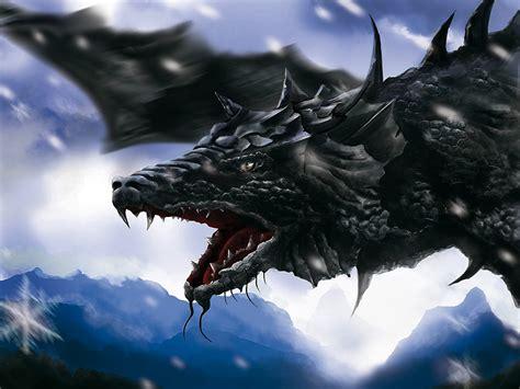 wallpaper dark dragon cartoon picture black dragon wallpaper