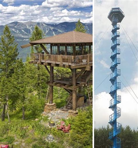 fire tower house look out old fire towers into modern mountain homes