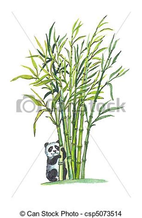 cadre photo g ant 2359 dessin de g 233 ant panda dans bambou for 234 t csp5073514
