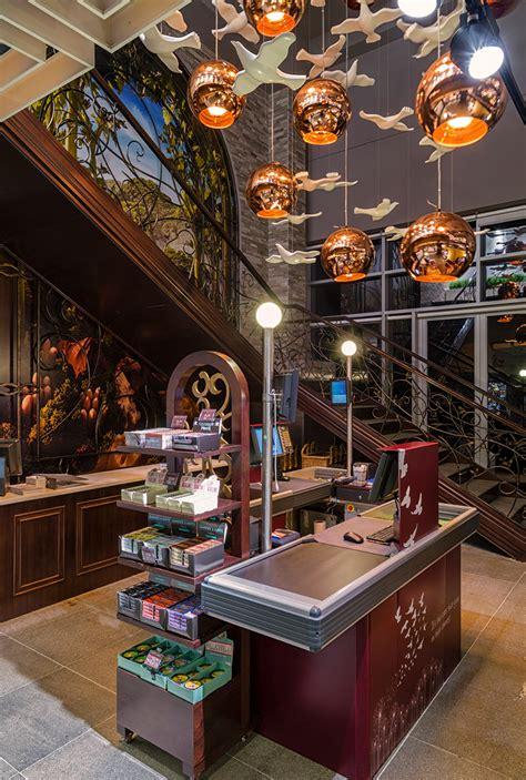 interior layout gourmet food emporium supermarket interior design
