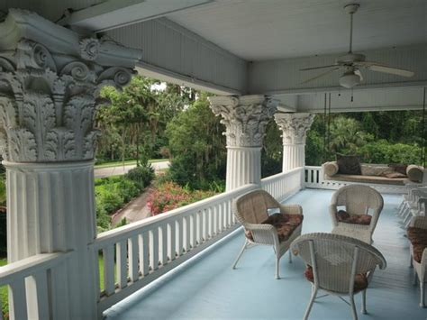 florida bed and breakfast balcony