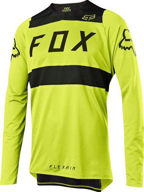 Jersey Fly Black Yellow Ls fox flexair ls jersey green black