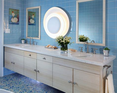 blue and beige bathroom ideas 36 blue ceramic floor tile for bathroom ideas and pictures