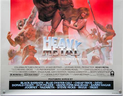 Heavy Metal Styles Usa | heavy metal one sheet style b usa